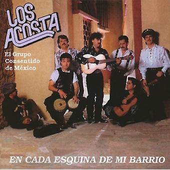 Los Acosta - En Cada Esquina De MI Barrio [CD] USA import