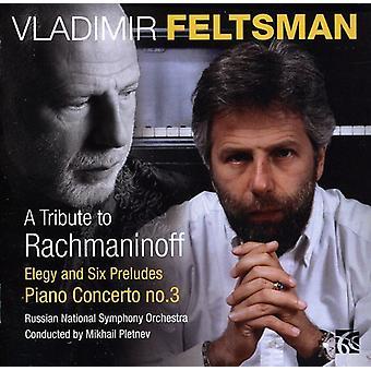 R. Rachmaninov - A Tribute to USA Rachmaninov [CD] importer