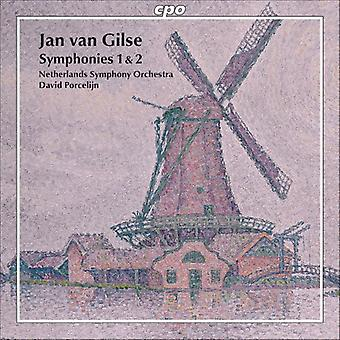 Jan Van Gilse - Jan Van Gilse: Symphonies 1 & 2 [CD] USA import