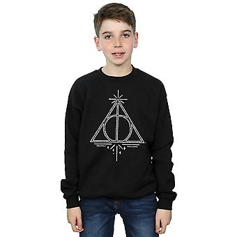 Harry Potter Boys Deathly Hallows Symbol Sweatshirt