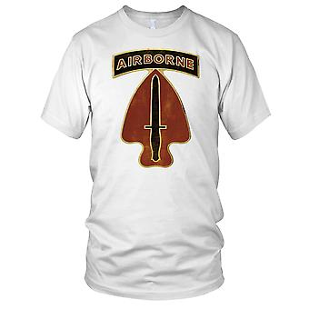 US Army Special Ops Commando Airborne Delta Force Mens T Shirt