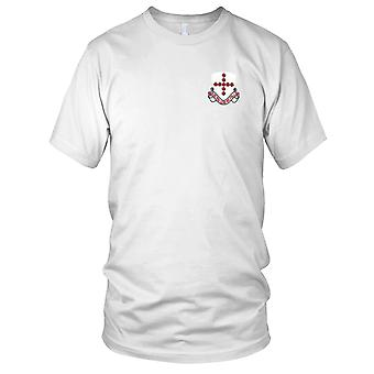 US Army - 9th Medical Battalion Embroidered Patch - Mens T Shirt