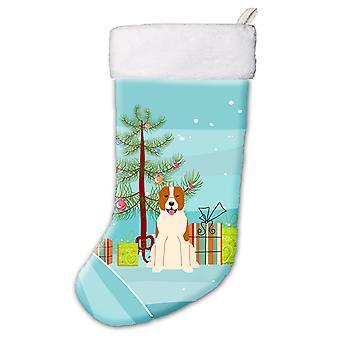 Merry Christmas Tree Central Asian Shepherd Dog Christmas Stocking