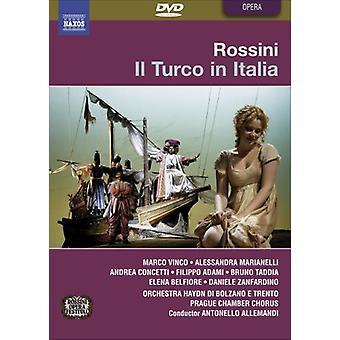 G. Rossini - Il Turco i Italia [DVD] USA importere