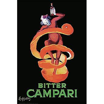 Каппиэльо Campari Плакат Печать горький Campari Плакат Плакат Печать
