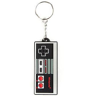 NINTENDO NES Controller kuminen avaimenperä (KE141769NTN)