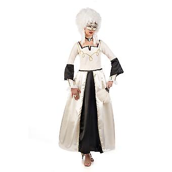 Dames de la famille noble vénitienne costume costume vénitien mascarade ball Baroque costume Lady