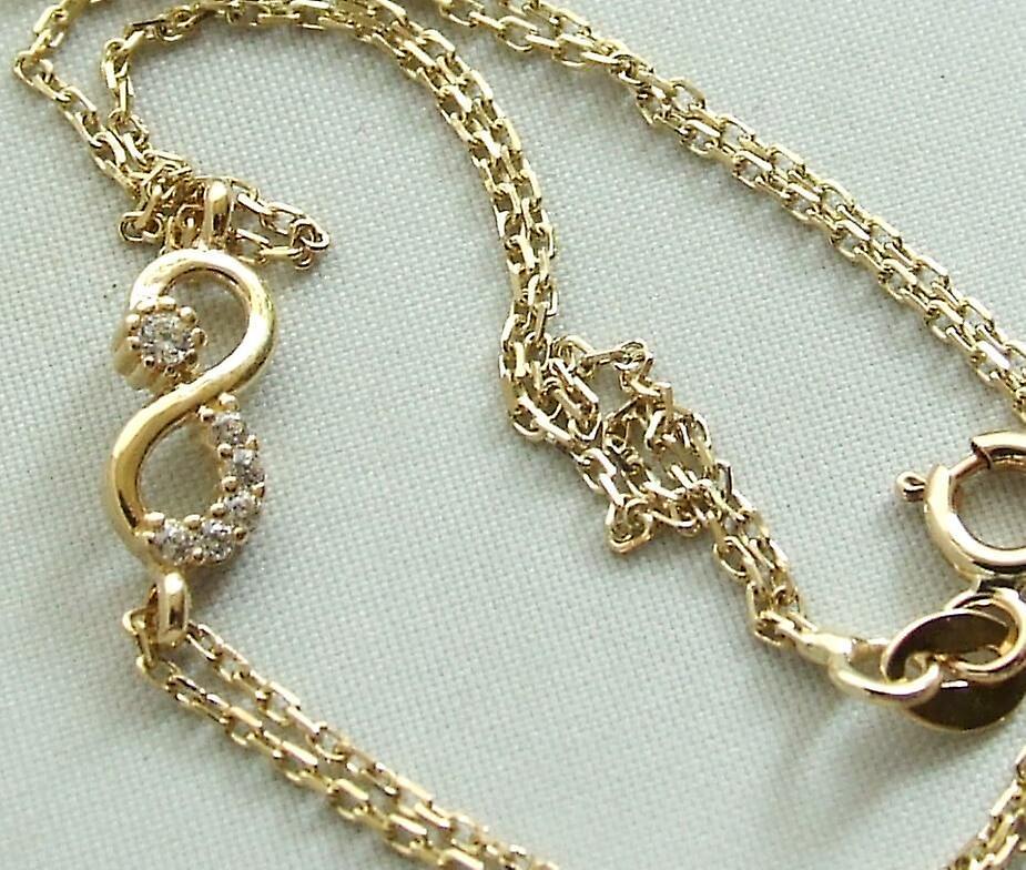 Golden Infinity bracelet