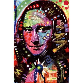 Мона Лиза плакат печати Дин Руссо (24 x 36)