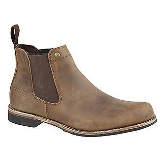 Woodland Mens Leather Dealer/Chelsea Boot