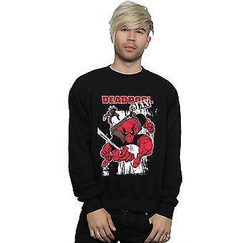 Marvel mænds Deadpool Max Sweatshirt