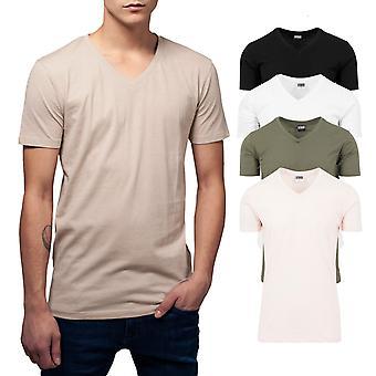 Urban classics - BASIC V hals shirt