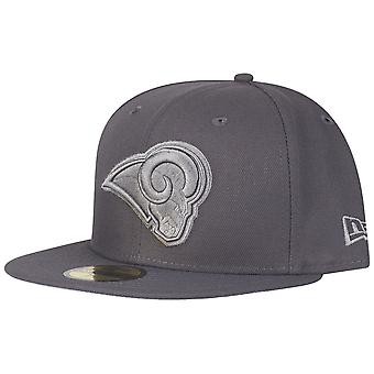 New Era 59Fifty Cap - GRAPHITE Los Angeles Rams