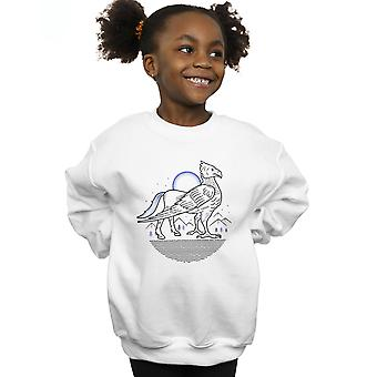Harry Potter Girls Buckbeak Line Art Sweatshirt