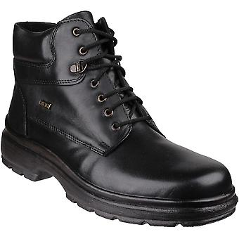Cotswold Mens Swell Casual Schnürschuh Leder Stiefeletten