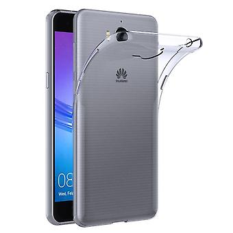 Silikoncase transparent 0.3 mm ultra thin case for Huawei Y6 2017 bag cover new