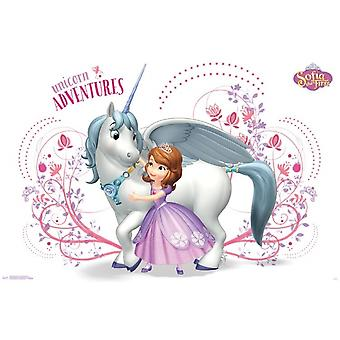 Sofia The First - Unicorn Adventures Poster Print
