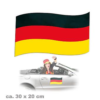 Magnetfahne Fan Deutschland Fanartikel Germany