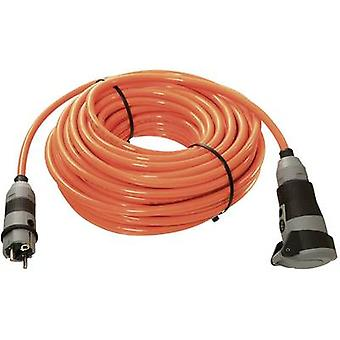 as - Schwabe 62260 Current Cable extension Orange 10 m