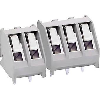Zacisk śrubowy MB220 - 500M 02 DECA 2,50 mm² liczbę pinów 2 szary 1 szt.
