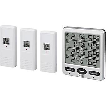 Renkforce Wireless termo-higrómetro plata