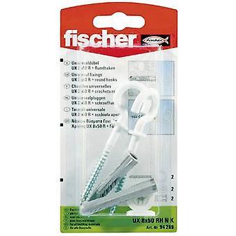 Fischer UX 8 x 50 RH N K Universal pluggen 50 mm 8 mm 94289 2 dator