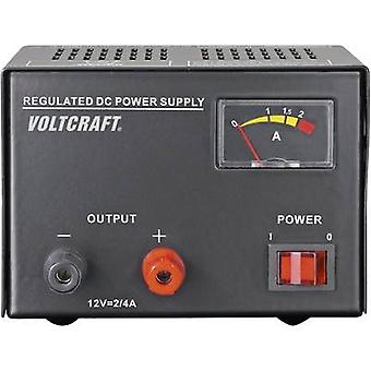 VOLTCRAFT FSP-1122 Bench PSU (fixed voltage) 12 V DC 2 A 25 W No. of outputs 1 x