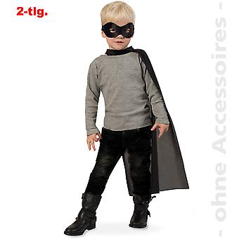 Superhelte kostume Bandit tegneserie helten Cape hero kids kostume Cape