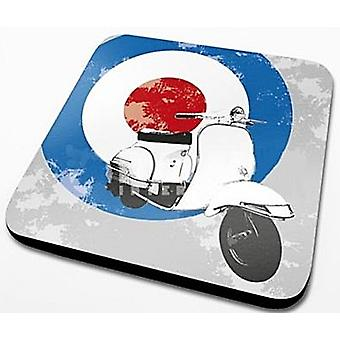 Mod skootterin kohteen Cork tukema juomia Mat / Coaster