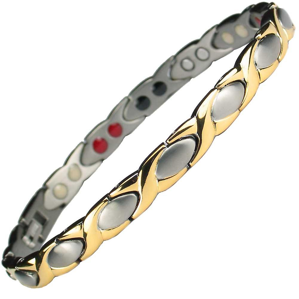 MPS® ALIOTH 4 in 1 GS Titanium Magnetic Bracelet + Free Link Removal Tool