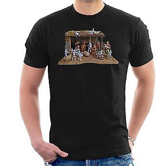 Oryginalna szturmowców Christmas Stormtivity męska koszulka
