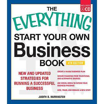 De alles beginnen uw eigen Business-boek - 4e editie met CD - Ne