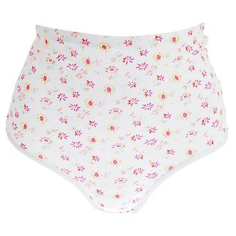 Passionelle Womens/damer blommig Tunnel elastisk bomull Trosor (förpackning med 3)