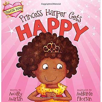 Prinsessa Harper saa onnellinen
