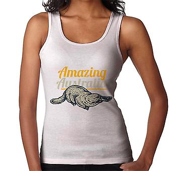 Amazing Australia Duck Billed Platypus Women's Vest