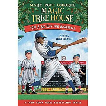 Een grote dag voor honkbal (Magic Tree House)