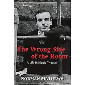 Der falschen Seite des Raumes: ein Leben im Musiktheater