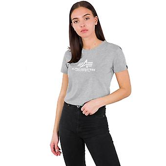 T-shirt της άλφα βιομηχανία γυναικών νέα βασική