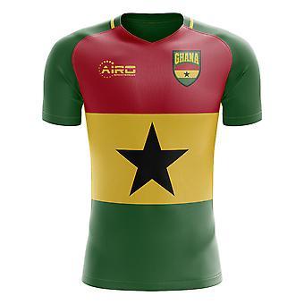 2020-2021 ガーナフラッグコンセプトフットボールシャツ