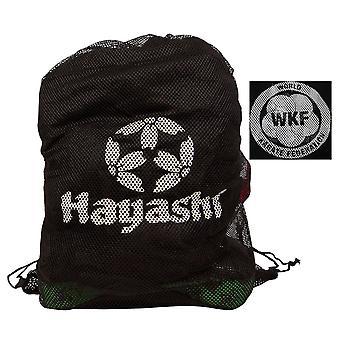 Hayashi WKF malha saco preto