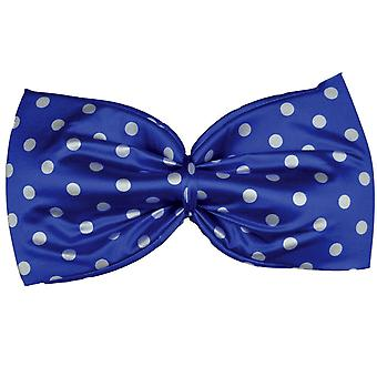 Bow Tie Polkadot Jumbo blu