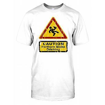 Noordelijke Bloke drinken - Grappige Mens T Shirt