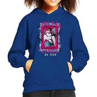 Ibiza Girls On Tour Kid's Hooded Sweatshirt