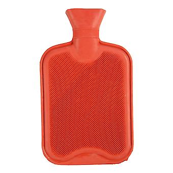 Large Hot Water Bottle - Natural Rubber Warmer - 2L litre