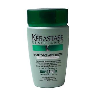 Kerastase Bain Kraft Architekt Reisen Shampoo 2,71 oz Erosion Level 34