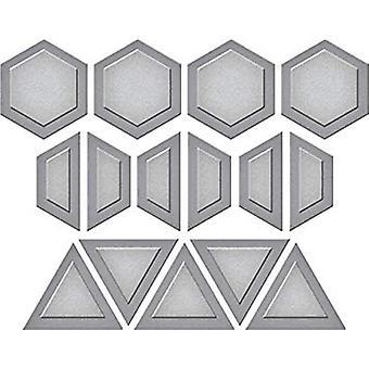Spellbinders Gems Quilt Etched Die D-Lites (S3-285)