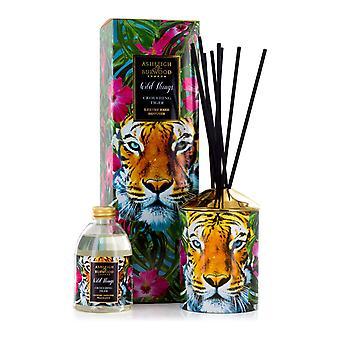 Ashleigh & Burwood Wild Things luxo scented Reed difusor agachado tigre-mandarim & bergamota