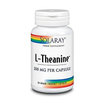 Solaray L-Theanine 200mg Capsules 30 (94712)