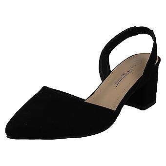 Ladies Anne Michelle Wide Fitting Slingback Shoes F90067