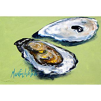 Carolines Treasures  MW1102PLMT Oysters Two Shells Fabric Placemat